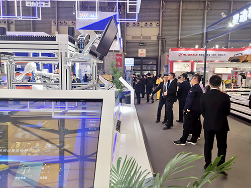 Lingong Zhike participated in the Asia International Logistics Exhibition
