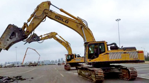 SDLG Excavators Support 10-Day Hospital Build in Wuhan